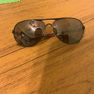 Authentic aviator Oakley's